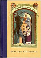 the bad beginning a series of unfortunate events lemony snicket