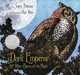 Dark Emperor and Other Poems of the Night Joyce Sidman