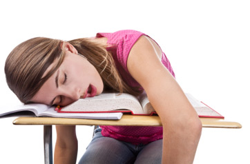 teenager sleep adolescent school performance
