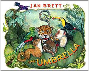 Jan Brett The Umbrella read aloud books