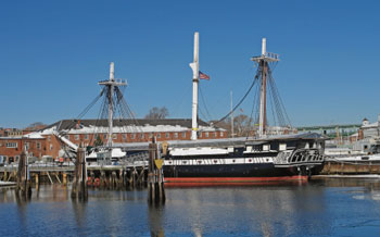 USS Constitution freedom trail boston field trip american history