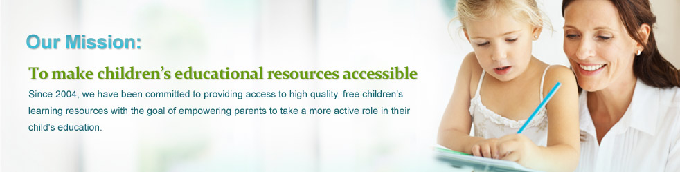 Our Mission: To make children's educational resources accessible
